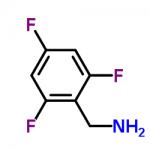 Structure of 2,4,6-trifluorobenzylaminine CAS 214759-21-4