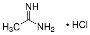 Structure of Acetamidine Hydrochloride CAS 124-42-5