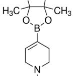 Structure of N-Boc-1,2,5,6-tetrahydropyridine-4-boronic acid pinacol ester CAS 286961-14-6