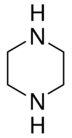 Structure of Piperazine CAS 110-85-0