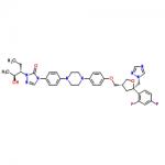 Structure of Posaconazole CAS 171228-49-2