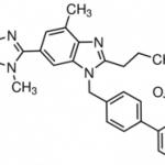 Structure of Telmisartan CAS 144701-48-4