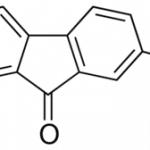 Structure of 2-Bromo-9-fluorenone CAS 3096-56-8
