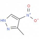Structure of 3-methyl-4-nitro-1H-pyrazole CAS 5334-39-4