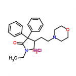 Structure of Doxapram HCl CAS 7081-53-0