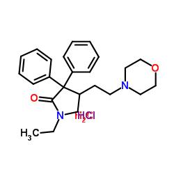 Structure of Doxapram HCl CAS 7081-53-0