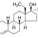 Structure of Levonorgestrel CAS 797-63-7
