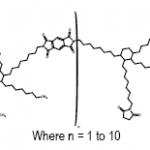 Structure of (1,2-Bis(octylmaleimide)-3-octyl-4-hexyl)cyclohexyl oligomer, BMI-9000P, Imide-extended bismaleimide oligomer CAS 921213-77-6