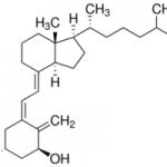 Structure of Alfacalcidol CAS 41294-56-8