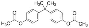 Structure of Bisphenol A diacetate CAS 10192-62-8