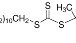Structure of 2-Methyl-2-[(dodecylsulfanylthiocarbonyl)sulfanyl]propanoic acid CAS 461642-78-4