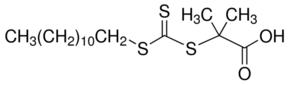 Structure of 2-Methyl-2-[(dodecylsulfanylthiocarbonyl)sulfanyl]propanoic acid CAS 461642-78-4
