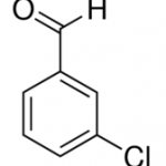 Structure of 3-Chlorobenzaldehyde CAS 587-04-2
