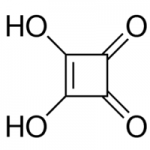 Structure of 3,4-Dihydroxy-3-cyclobutene-1,2-dione CAS 2892-51-5