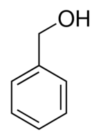 Structure of Benzyl alcohol CAS 100-51-6