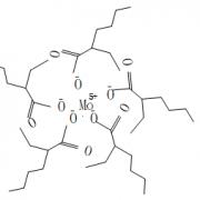 Structure of Molybdenum 2-ethylhexanoate(MoEHN) CAS 34041-09-3