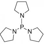 Structure of TRIS(1-PYRROLIDINYL)PHOSPHINE CAS 5666-12-6