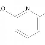 Structure of 2-Fluoro-6-methoxypyridine CAS 116241-61-3