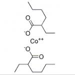 Structure of Cobalt Octoate CAS 136-52-7