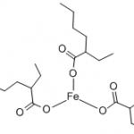 Structure of Iron(III) Octoate CAS 7321-53-1