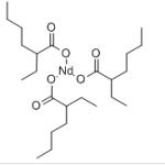 Structure of Neodymium Octoate CAS 73227-23-3