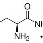 Structure of (S)-2-Aminobutyramide hydrochloride CAS 7682-20-4