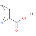 Structure of 2-Quinuclidinecarboxylic acid hydrochloride CAS 52601-23-7