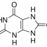 Structure of Uric Acid CAS 69-93-2