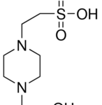 Structure of HEPES CAS 7365-45-9
