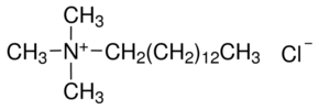 Structure of Tetradecyl trimethyl ammonium chloride CAS 4574-04-3
