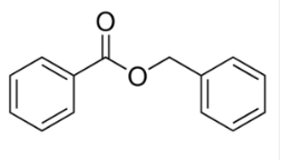 Structure of Benzyl benzoate CAS 120-51-4