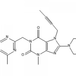 Structure of Linagliptin CAS 668270-12-0