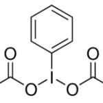 Stucture of Iodobenzene Diacetate CAS 3240-34-4