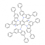 Structure of 2,3,5,6-Tetrakis(3,6-diphenyl-9H-carbazol-9-yl)-1,4-benzenedicarbonitrile CAS 1416881-55-4