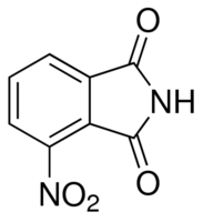 Structure of 3-Nitrophthalimide CAS 603-62-3