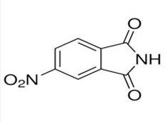 Structure of 4-Nitrophthalimide CAS 89-40-7