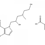 Structure of Xanthinol Nicotinate CAS 437-74-1