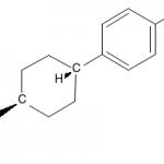 Structure of 4-(trans-4-Propylcyclohexyl)phenol CAS 81936-33-6