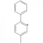Structure of 5-Methyl-2-phenylpyridine CAS 27012-22-2