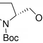 Structure of Boc-D-prolinol CAS 83435-58-9