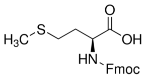 Structure of Fmoc-Met-OH CAS 71989-28-1