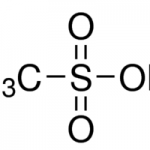 Structure of Methanesulfonic acid CAS 75-75-2