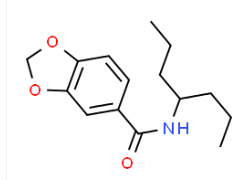 Structure of N-heptan-4-ylbenzod1-3-dioxole-5-carboxamide CAS 745047-51-2