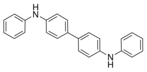 Structure of N,N'-Diphenylbenzidine CAS 531-91-9
