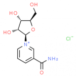 Structure of Nicotinamide riboside chloride NR-CL CAS 23111-00-4