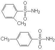 Structure of OP-Toluenesulfonamide (OPTSA) CAS 1333-07-9(8013-74-9)