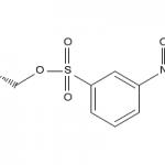 Structure of (S)-(+)-Glycidyl nosylate CAS 115314-14-2