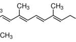 Structure of Vitamin A Acetate CAS 127-47-9