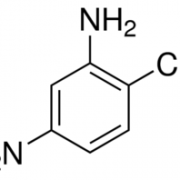 Structure of 2-Methyl-5-nitroaniline CAS 99-55-8