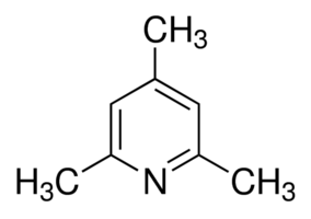 Structure of 2,4,6-Collidine CAS 108-75-8